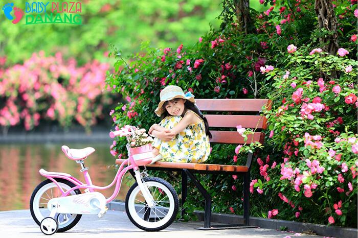 Xe đạp ROYALBABY LITTLE SWAN RB-18 cho bé gái 7