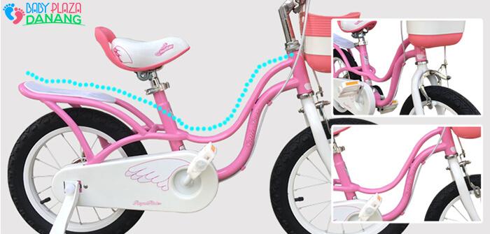 Xe đạp ROYALBABY LITTLE SWAN RB-18 cho bé gái 10