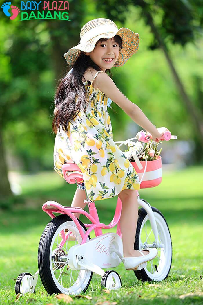 Xe đạp ROYALBABY LITTLE SWAN RB-18 cho bé gái 1