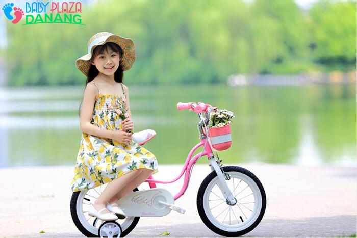Xe đạp ROYALBABY LITTLE SWAN RB-18 cho bé gái 2