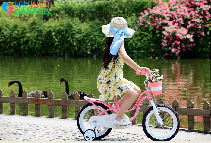 Xe đạp ROYALBABY LITTLE SWAN RB-18 cho bé gái 3
