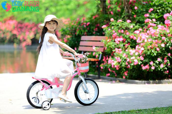 Xe đạp ROYALBABY LITTLE SWAN RB-18 cho bé gái 4
