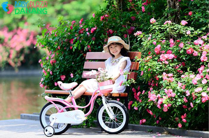 Xe đạp ROYALBABY LITTLE SWAN RB-18 cho bé gái 5