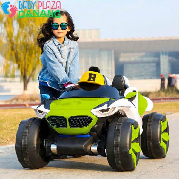 Xe oto điện trẻ em 4 động cơ HS-688 (quạt gió) 1
