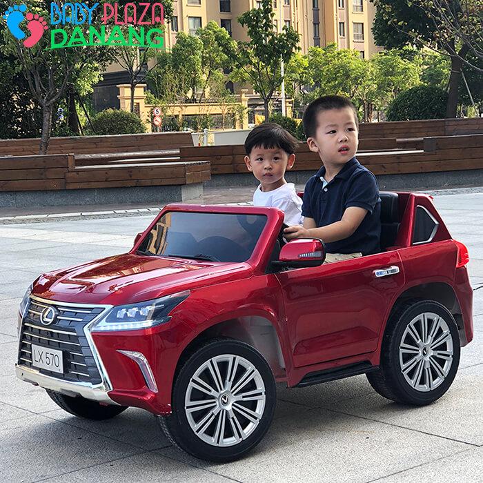 Xe hơi điện trẻ em LEXUS LX-570 cao cấp 10