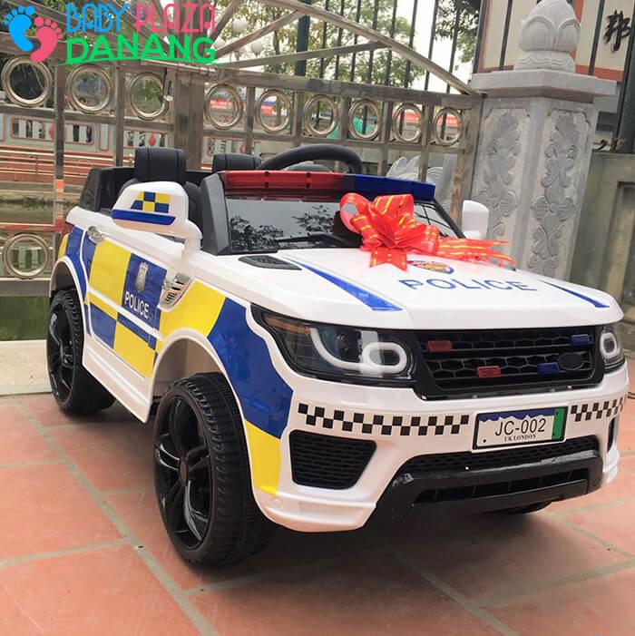 Xe oto điện trẻ em Police JC002 1