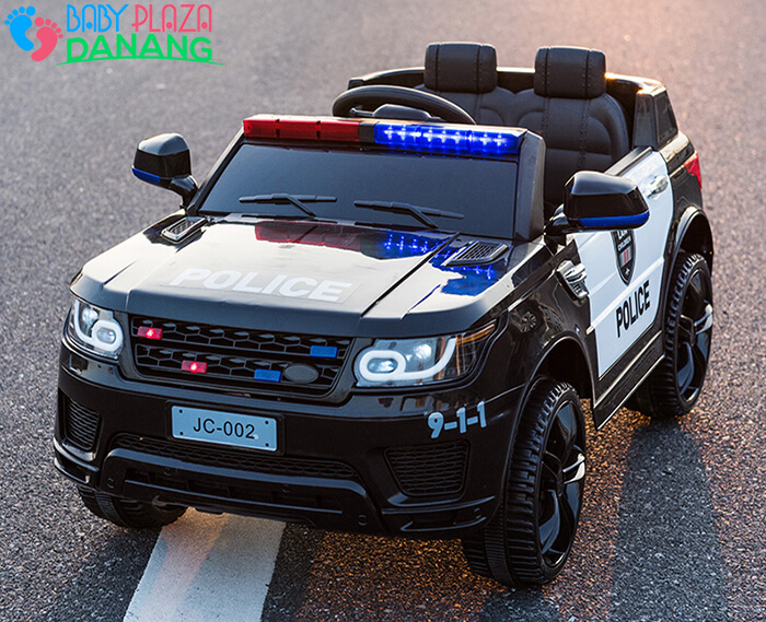 Xe oto điện trẻ em Police JC002 12