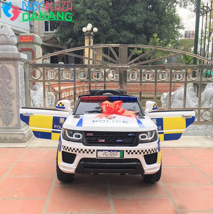 Xe oto điện trẻ em Police JC002 2