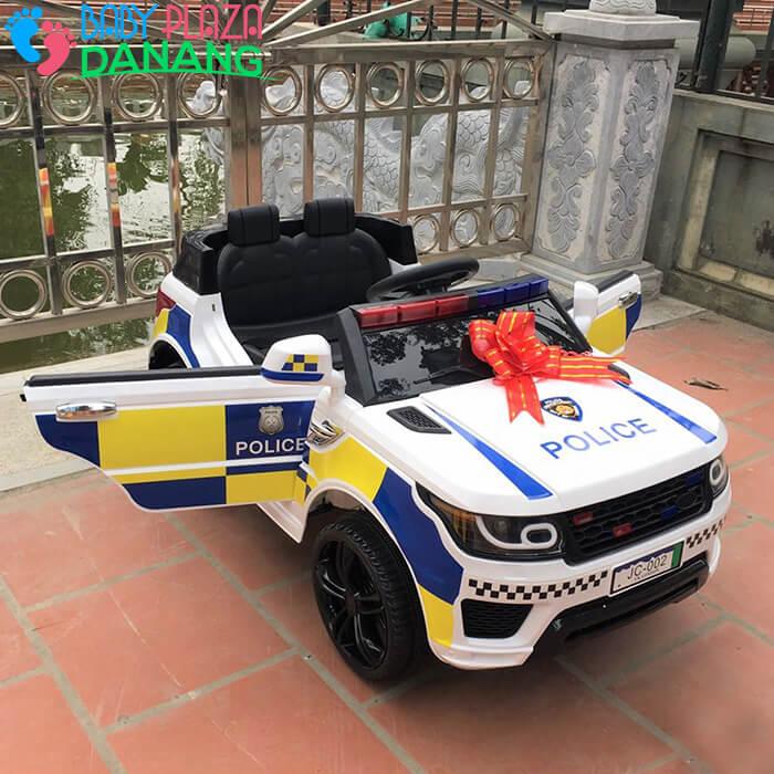 Xe oto điện trẻ em Police JC002 4