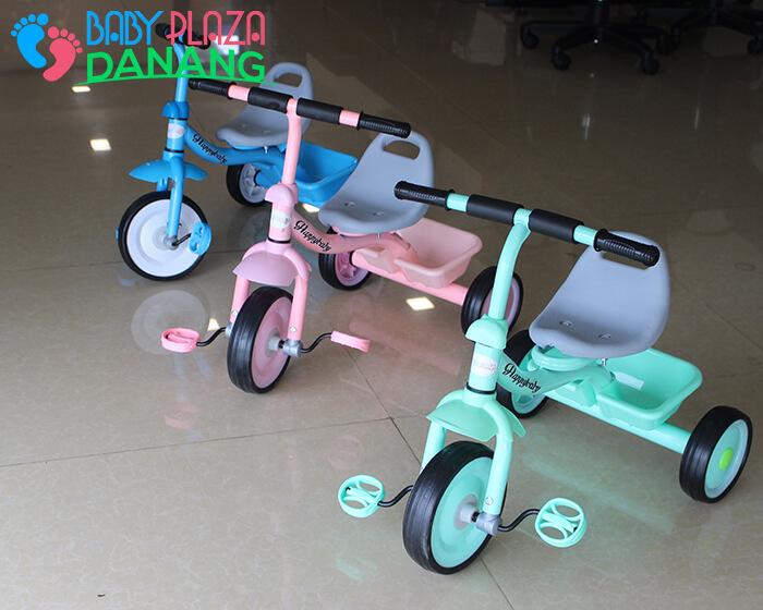 Xe đạp trẻ em 3 bánh Broller XD3-2018 2