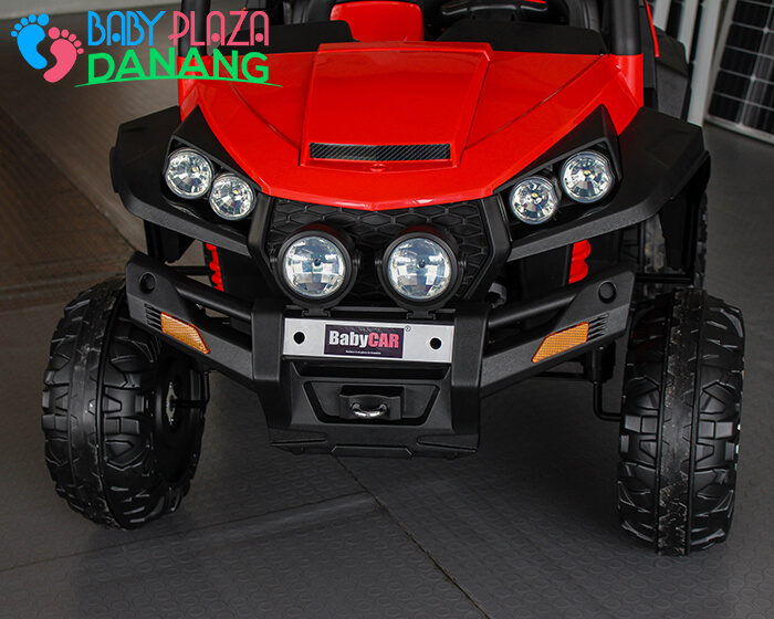 Xe oto điện cao cấp BabyCar S2588 thương hiệu Ý 10