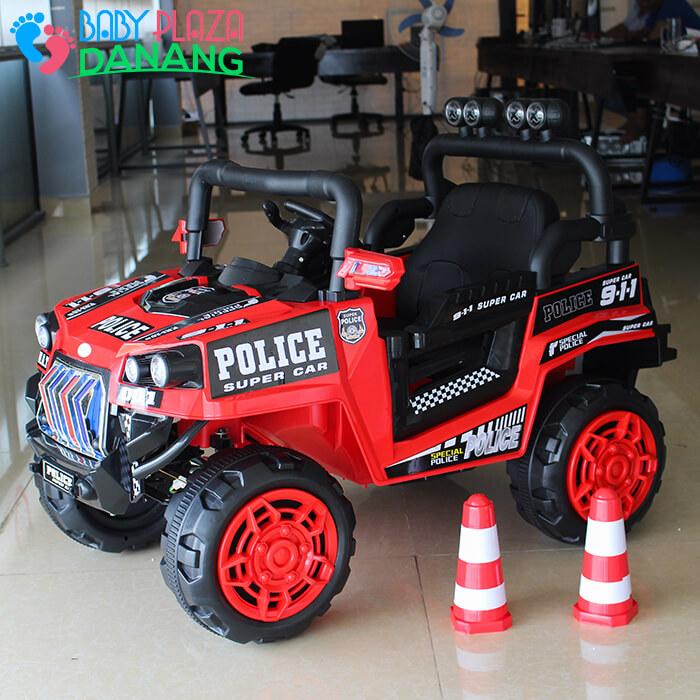 Xe hơi điện Police cho bé 5168 1
