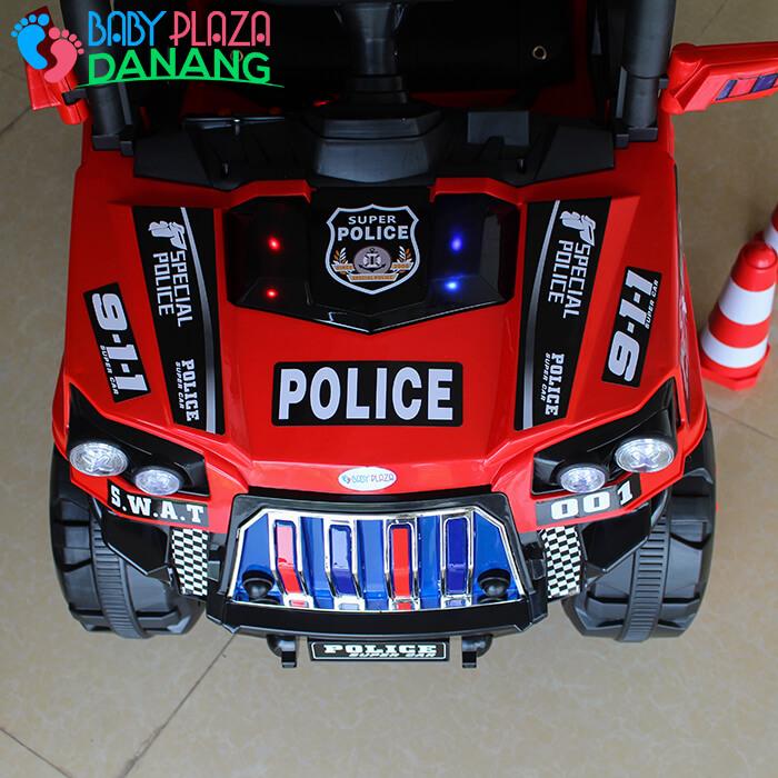 Xe hơi điện Police cho bé 5168 10