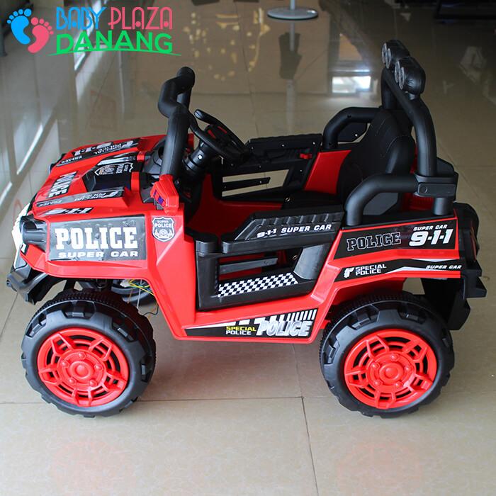 Xe hơi điện Police cho bé 5168 3