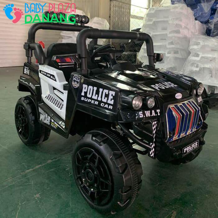 Xe hơi điện Police cho bé 5168 6