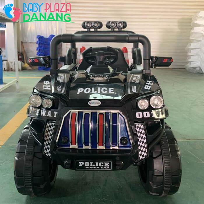 Xe hơi điện Police cho bé 5168 7