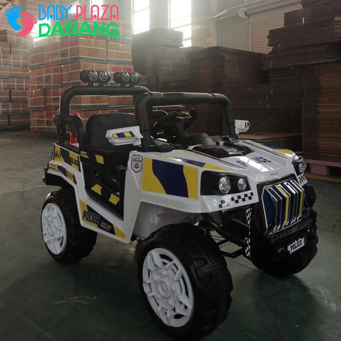 Xe hơi điện Police cho bé 5168 8