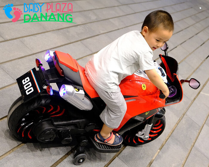 Xe moto điện trẻ em 900 4