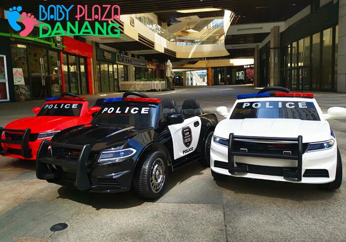 Xe ô tô cảnh sát cho bé JC-666 1