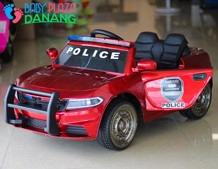 Xe ô tô cảnh sát cho bé JC-666 10