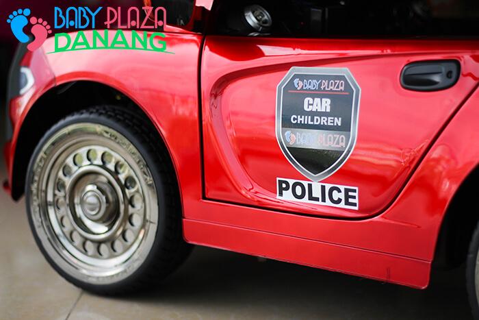 Xe ô tô cảnh sát cho bé JC-666 15
