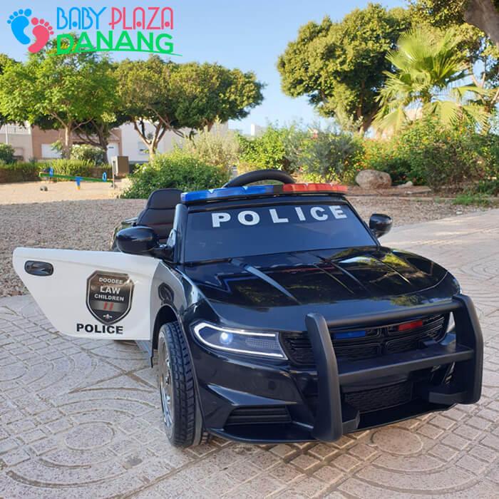 Xe ô tô cảnh sát cho bé JC-666 4