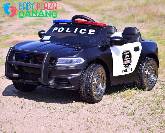 Xe ô tô cảnh sát cho bé JC-666 6