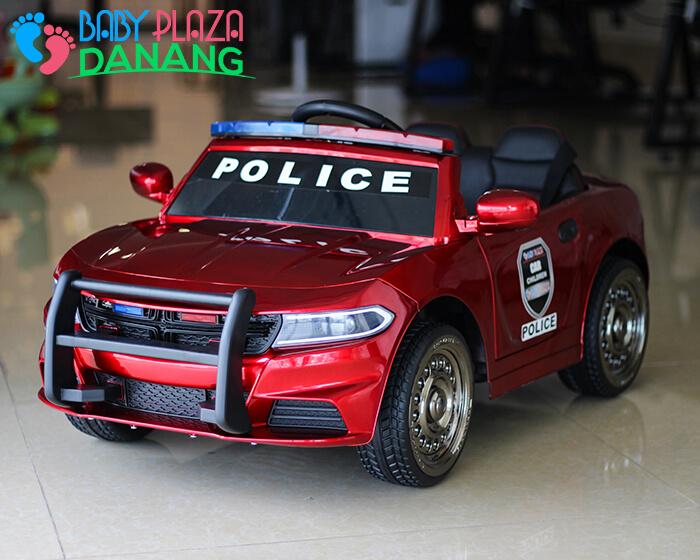 Xe ô tô cảnh sát cho bé JC-666 9