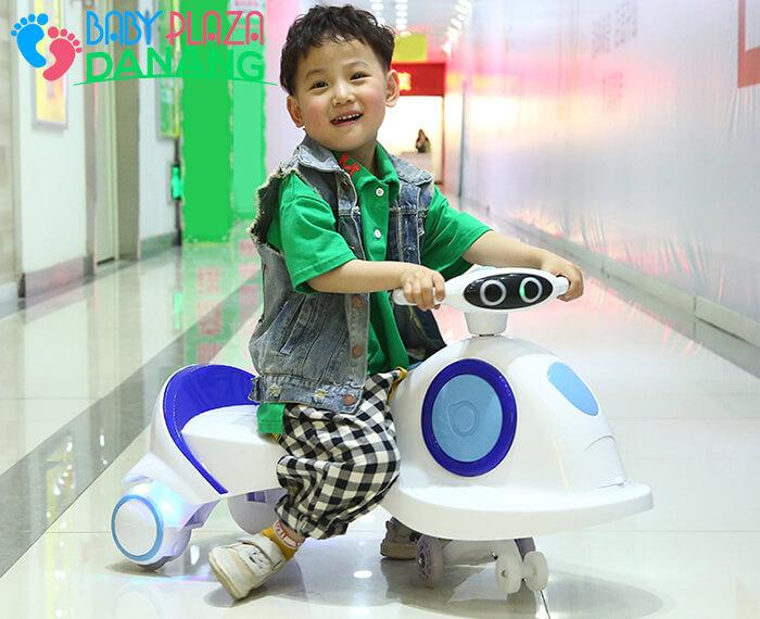 Xe lắc đồ chơi cho bé SZ007 7