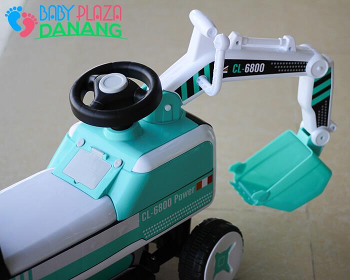 Xe máy xúc chòi chân CL-6801 7