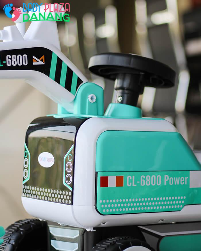 Xe máy xúc chòi chân CL-6801 8