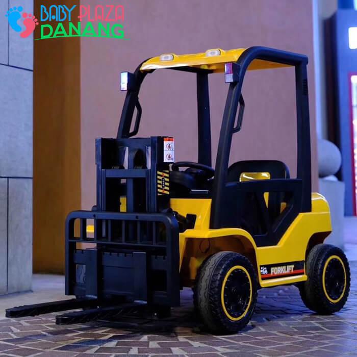 Xe nâng hàng chạy điện đồ chơi cho bé DLS-08 1