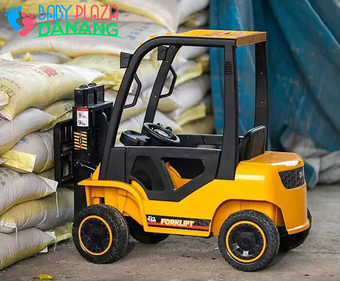 Xe nâng hàng chạy điện đồ chơi cho bé DLS-08 2