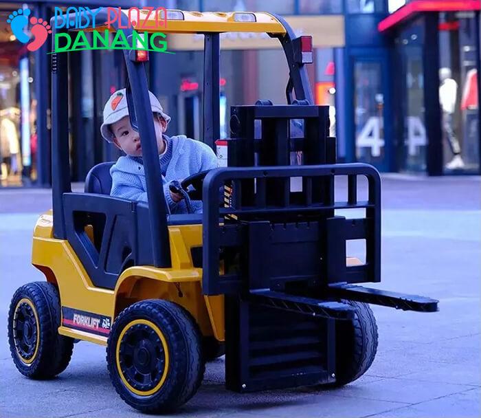 Xe nâng hàng chạy điện đồ chơi cho bé DLS-08 3