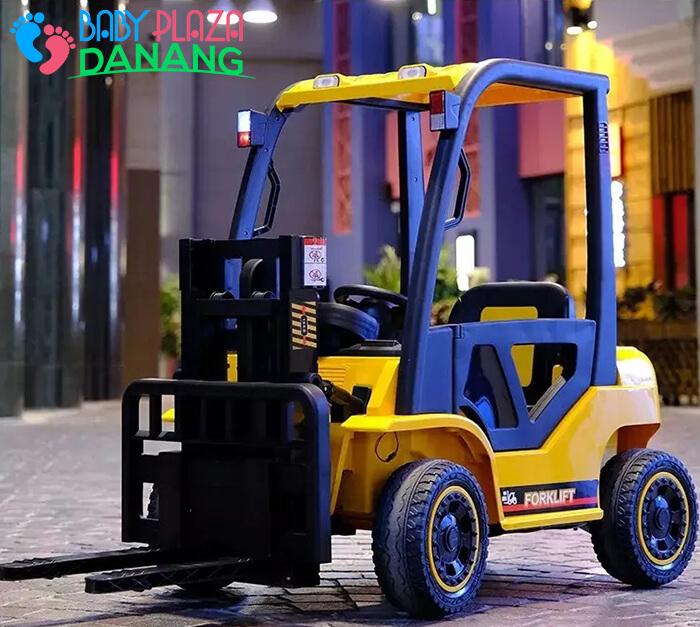 Xe nâng hàng chạy điện đồ chơi cho bé DLS-08 4