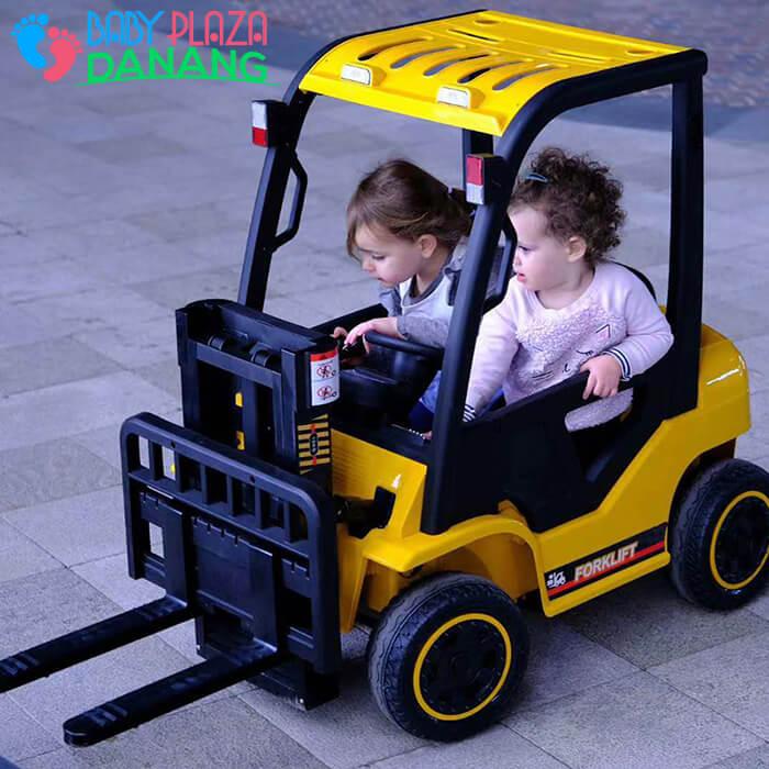 Xe nâng hàng chạy điện đồ chơi cho bé DLS-08 5
