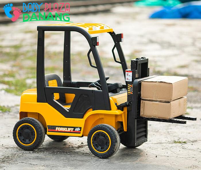 Xe nâng hàng chạy điện đồ chơi cho bé DLS-08 6