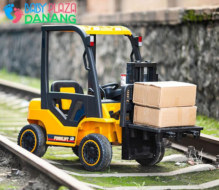 Xe nâng hàng chạy điện đồ chơi cho bé DLS-08 7