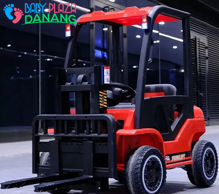Xe nâng hàng chạy điện đồ chơi cho bé DLS-08 8