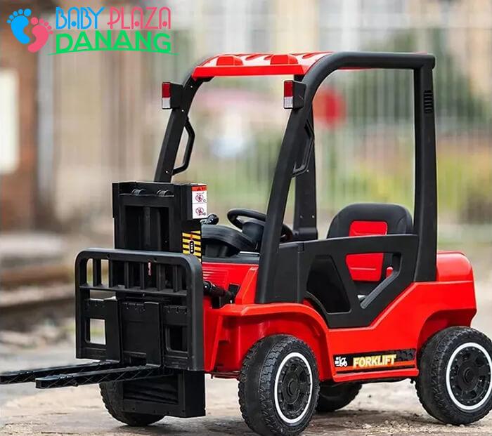 Xe nâng hàng chạy điện đồ chơi cho bé DLS-08 9