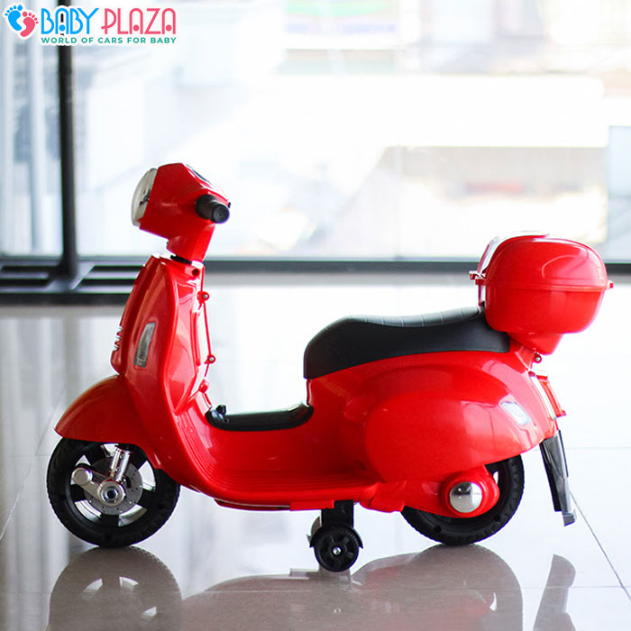 Xe máy điện Vespa Q518 cho bé 4