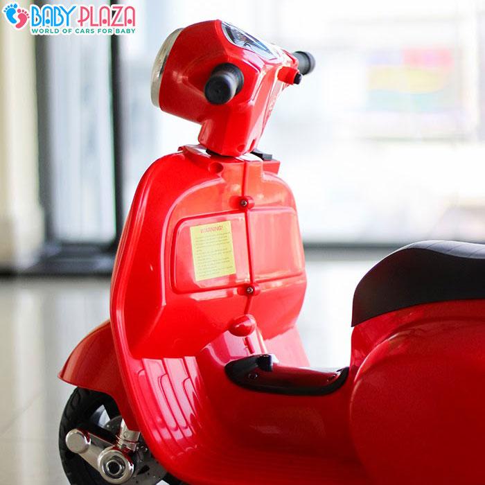Xe máy điện Vespa Q518 cho bé 6