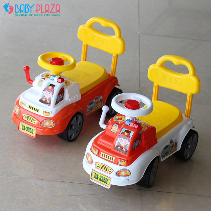 Chòi chân cho bé xe cứu hỏa QX3350 1