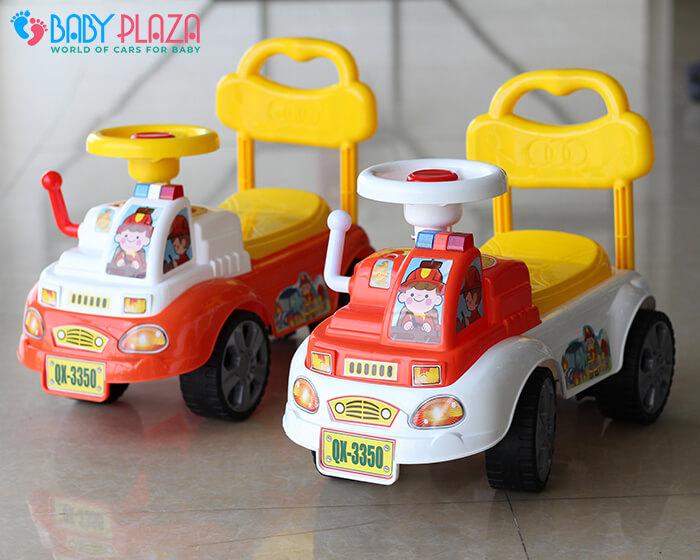 Chòi chân cho bé xe cứu hỏa QX3350 2