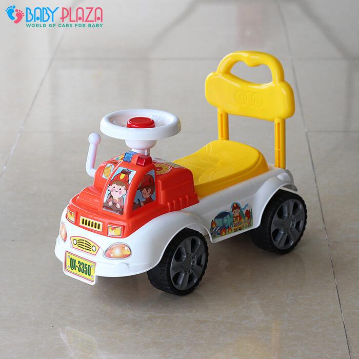 Chòi chân cho bé xe cứu hỏa QX3350 3