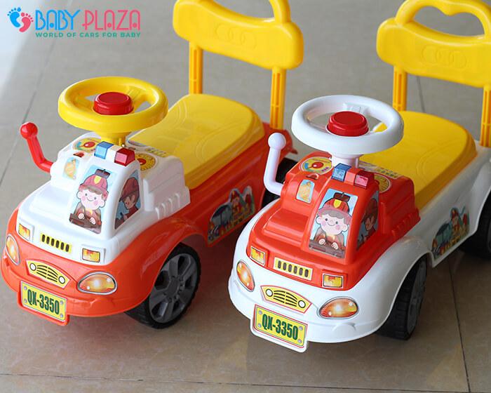 Chòi chân cho bé xe cứu hỏa QX3350 6