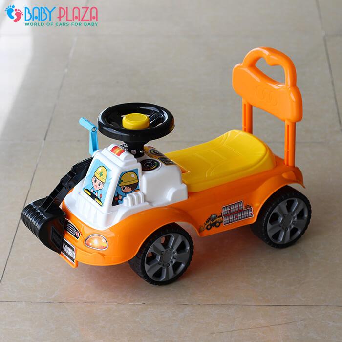 Chòi chân mô hình xe máy xúc QX3353 2