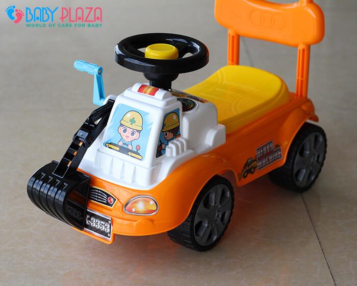 Chòi chân mô hình xe máy xúc QX3353 3