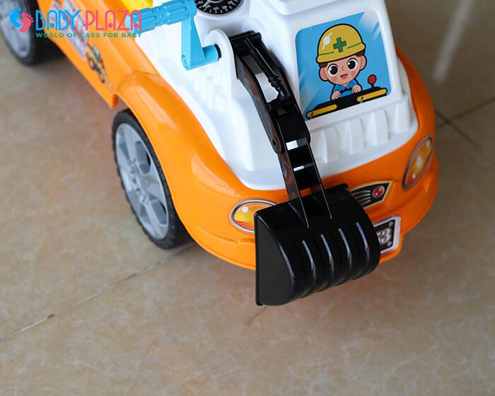 Chòi chân mô hình xe máy xúc QX3353 4