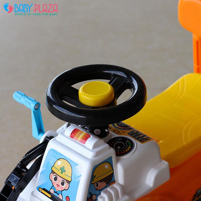 Chòi chân mô hình xe máy xúc QX3353 5